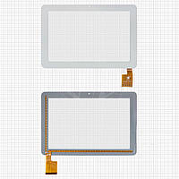 Touchscreen (сенсорный экран) для Sanei N10, 60 pin, оригинал (белый)