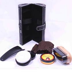 Эксклюзивный набор для обуви в кожаном кейсе купить на подарок по выгодным ценам