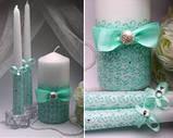 Свадебные свечи в ассортименте, фото 5