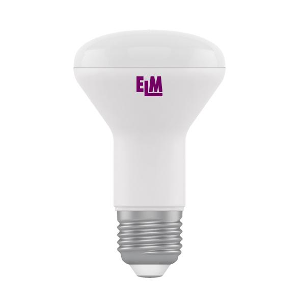 Лампа светодиодная R63 7W E27 3000К 540 Lm ELM