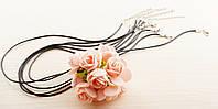 Шнур для подвесок чёрный 2 (50 см) (товар при заказе от 200 грн)