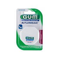 Зубная нить GUM ButlerWeave Waxed, 55 м