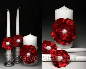 Свадебные свечи Pion