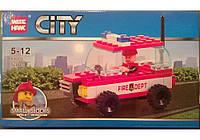 """Конструктор CITY 89001 """"Транспорт"""", 56 деталей"""