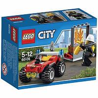 Детский конструктор Lego City Пожарный квадроцикл