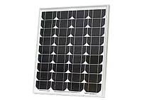 Монокристалическая солнечная панель (батарея) ALM-50M 50Вт