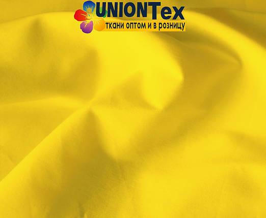 Рубашечная ткань стрейч желтая, фото 2