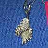 Серебряная подвеска Крылья с цирконием 3059