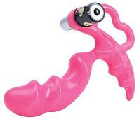 Анальная пробка с вибрацией Dream Toys Анальный стимулятор Pink Pleasure Vibrating Silicone Probe | Секс шоп - интим магазин Импери.