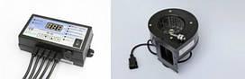 Автоматика для твердотопливного котла ( контроллер и вентилятор)