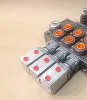 Установка пневмоуправления на гидрораспределитель с подачей масла 80 л/мин