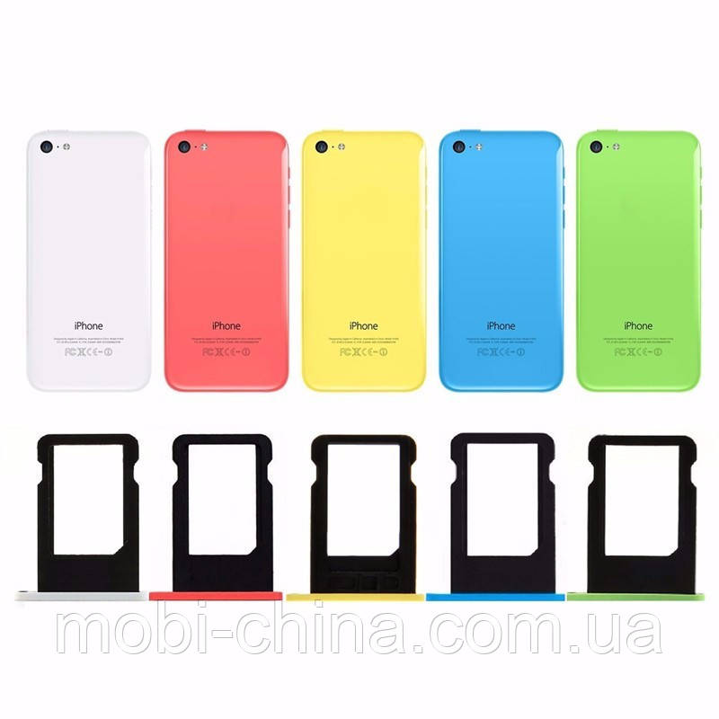 Слот под Nano сим-карту iPhone 5c