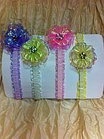 Нежные повязки на резинках для самых маленьких девочек