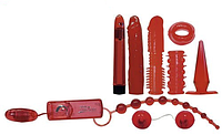 Секс набор интим игрушек Orion Red Roses Set | Секс шоп - интим магазин Импери.