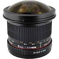 Объектив Samyang 8 mm f/3.5 CS II Fish-eye Nikon
