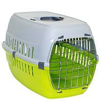 Moderna МОДЕРНА РОУД-РАННЕР 2 переноска для собак с металлической дверью, 58х35х37 см, зеленый