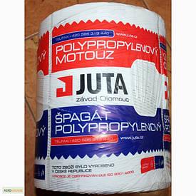 Шпагат сеновязальный Юта  - JUTA 500 Чехия, для тюковки сена и соломы; 90кг на разрыв, 2000м/бухта; С НДС