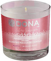 Массажная свеча Dona by JO Свеча для массажа DONA SCENTED MASSAGE CANDLE - FLIRTY | Секс шоп - интим магазин Импери.