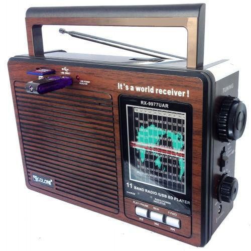Радиоприемник Golon RX 9977 Колонка MP3 USB радио колонка