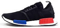 Мужские кроссовки Adidas NMD Runner PK BW/Blue/Red, адидас
