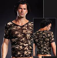 Футболка Pro-Mesh V-Neck Tee Camouflage, S/M, L/XL