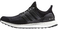 Мужские кроссовки Adidas Ultra Boost  Core Black, адидас