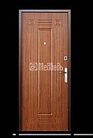 """Двери входные """"Медведь М1"""" 860*2040 мм. (Дуб золотой)"""