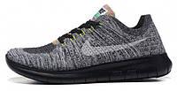 Мужские кроссовки Nike Free Run 5,0 Flyknit Oreo, найк