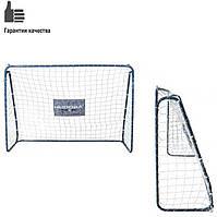 Ворота для футбола металлические 213-152см, фото 1