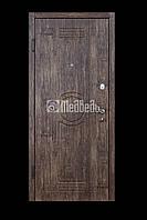 """Двери входные """"Медведь М2"""" 960*2040 мм. (Старое дерево)"""