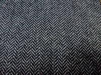 Твид Елочка (т. серый) (арт. 06249) в отрезах