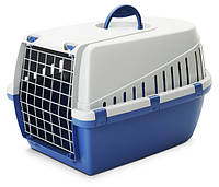 Savic ТРОТТЭР3 (Trotter3) переноска для собак, пластик, 60,5Х40,5Х39 см, голубой