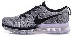 Мужские кроссовки Nike Air Max Flyknit Grey Oreo