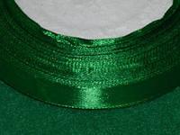 Стрічка атласна 12 мм зелений 16211