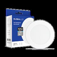 Встраиваемый светильник GLOBAL LED 12W 4100K 1-SPN-008-C