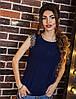 Блузка женская пуговицы по спинке+кружево, фото 3