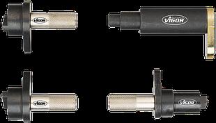 Набір фіксаторів VAG, 4 предмета 1.2 л, 3 циліндрових, 6В і 12В бензинових двигунів, VIGOR, V4346