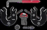 Набор фиксаторов VAG, 6 предметов AUDI 3,0-ЛИТРОВЫЙ V6 БЕНЗИНОВЫЕ ДВИГАТЕЛИ, VIGOR, V4423
