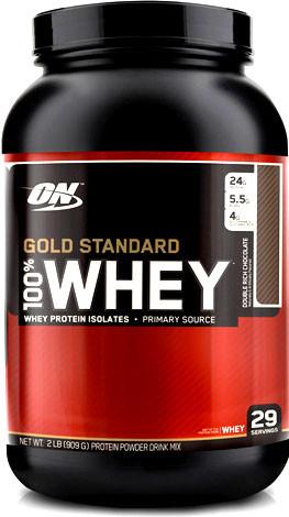 Протеин Gold Standart 100% whey (909 грамм)