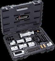Съемники стеклоочистителей, универсальный комплект 14 предметов, VIGOR, V2523