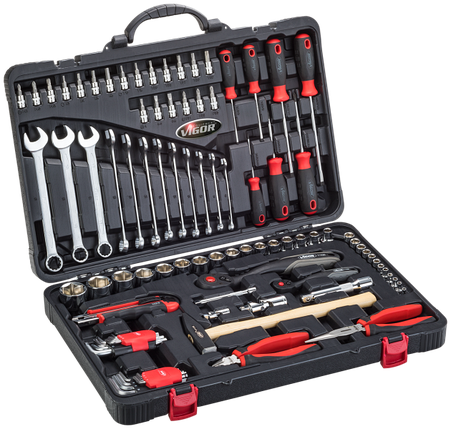 Универсальный набор инструментов для мастера, 95 предмета, VIGOR, V4425, фото 2