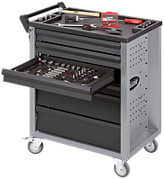 Тележка для инструментов с набором 206ед, VIGOR, V1620