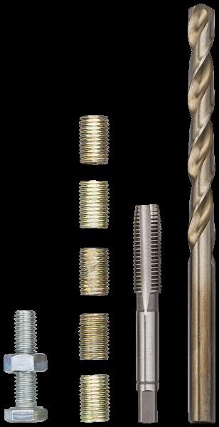 Инструмент для ремонта резьбы М 6 Х 1,00 Х 12 ММ, VIGOR, V4213