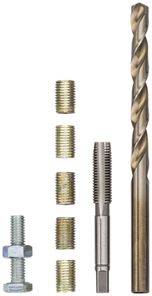 Инструмент для ремонта резьбы М 6 Х 1,00 Х 12 ММ, VIGOR, V4213, фото 2