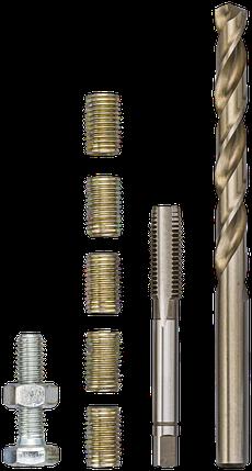 Инструмент для ремонта резьбы M 8 Х 1,25 Х 16 ММ, VIGOR, V4214, фото 2