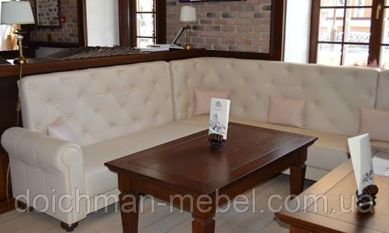 """Кожаные диваны для ресторана, бара, кафе, дома """"ЧЕСТЕР"""" купить в Украине"""