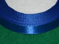 Лента атласная 12 мм синий 16223