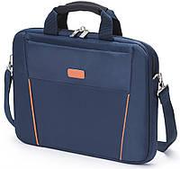 Сумка для ноутбука DICOTA Slim Case BASE 12-13.3 blue/orange
