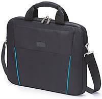 "Сумка для ноутбука DICOTA Slim Case BASE 12-13.3"" black/blue"