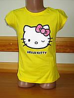 Детская футболка для девочки Китти, Hello kitty Sun Sity Франция  3-8лет